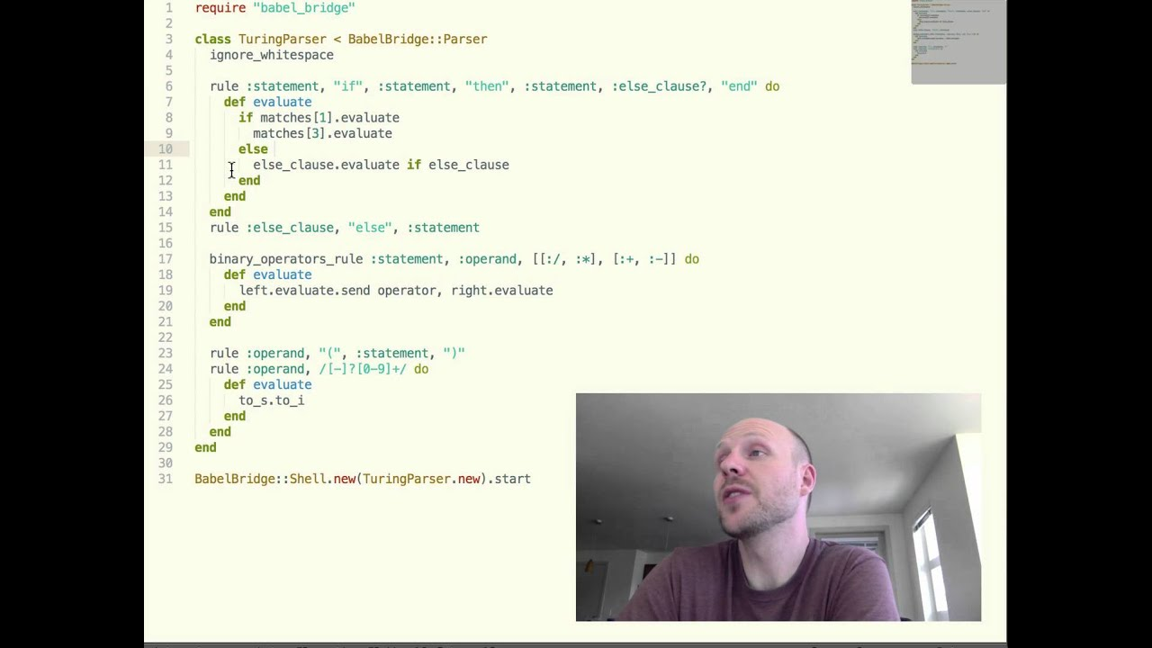 How to write a programming language book