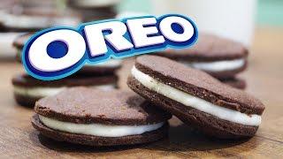 ПЕЧЕНЬЕ ОРЕО БЕЗ ЯИЦ - очень простой рецепт | Homemade OREO Cookies Recipe