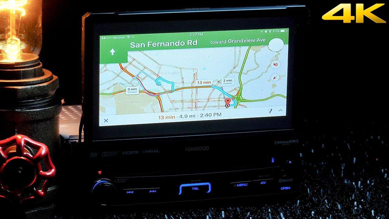 Kenwood Kvt 7012bt 7 Flip Up Touchscreen Mirroring Hdmi Youtube 819 Wiring Harness 4 Pin