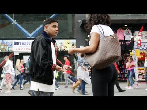 Guy Tries To Pick Up Girls Speaking Only In Rap Song Titles