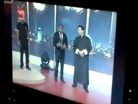 GrandMaster Samuel Kwok in Angola TV