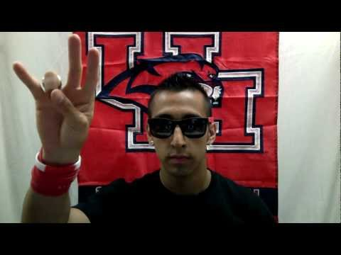 How to sing University of Houston ALMA MATER with Lyrics