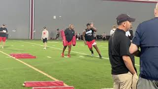 Christen Miller, 4-star 2022 DT, Work Out With Ohio State Football's Larry Johnson