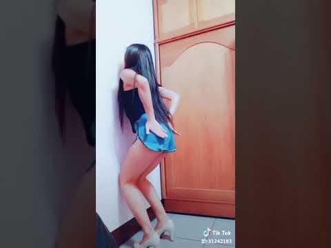 Myanmar Girl Wall Squat Challange 1