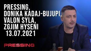 PRESSING, Donika Kadaj-Bujupi, Valon Syla, Zgjim Hyseni – 13.07.2021