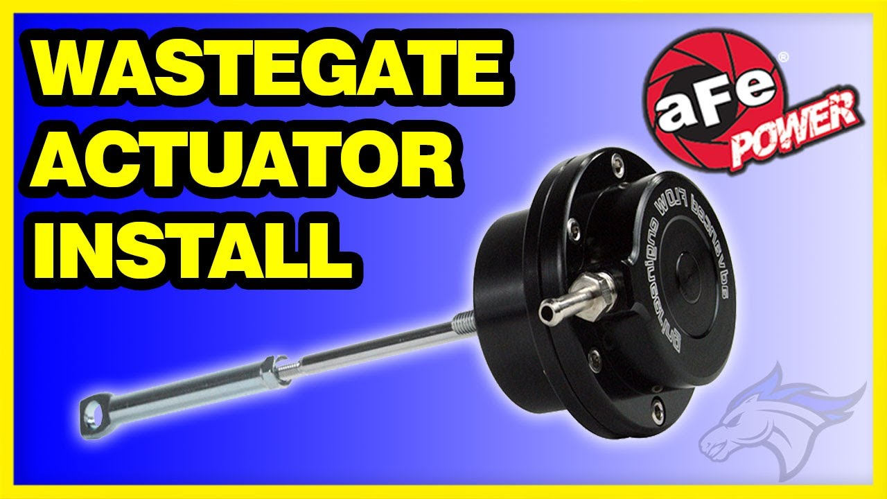 Afe Wastegate Actuator Install 94 02 Dodge Create More Boost Youtube