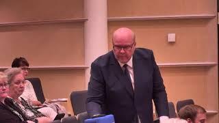 27 § Tilinpäätöksen hyväksyminen ja vastuuvapauden myöntäminen vuodelta 2018