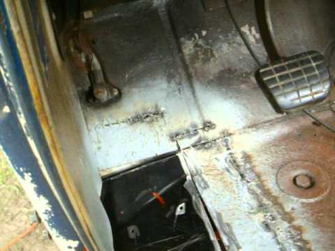 63 C10 Floor Repair Part 1 Youtube