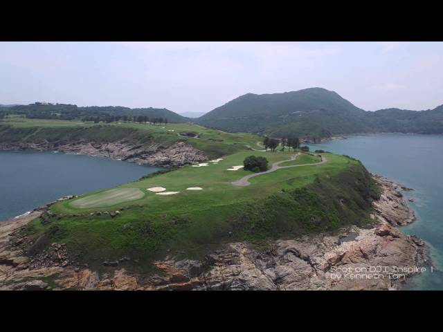DJI Inspire One- The Clearwater Bay Golf & Country Club in Hong Kong