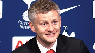 Tottenham 0-1 Manchester United - Ole Gunnar Solskjaer Post Match Press Conference - Premier League