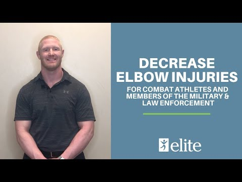 Elbow Strengthening For Combat Athletes | Elite Physical Therapy | Kansas City