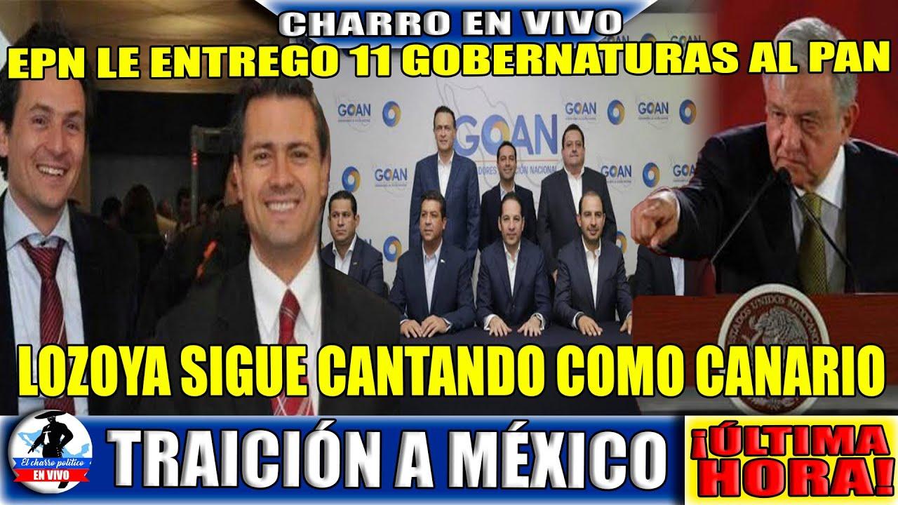 ¡Alerta! Gobernadores Del PAN Quieren Salir del País;Lozoya Canta Como Canario;Peña Vendió Estados