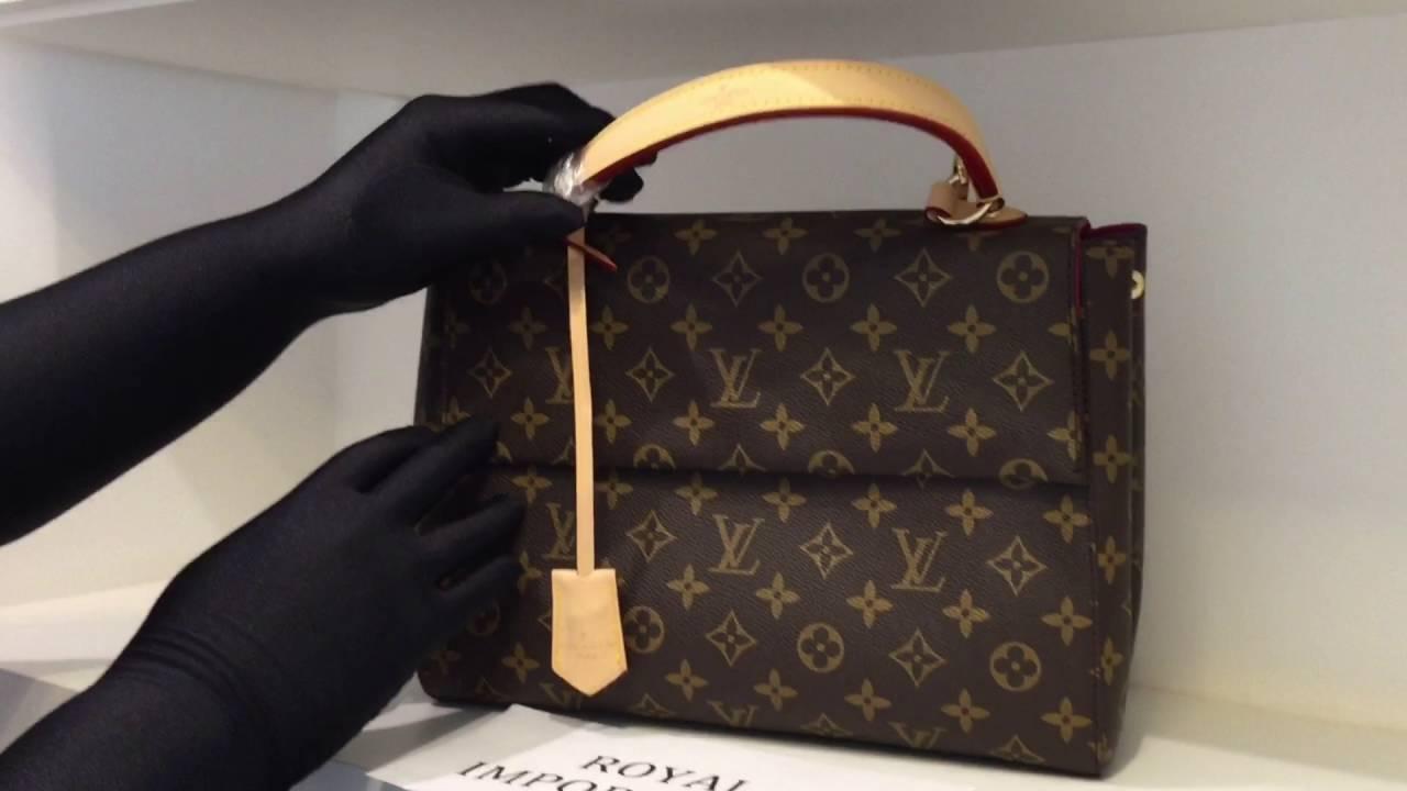 5450ff41219e Bolsa Louis Vuitton Monogram Canvas Cluny - YouTube