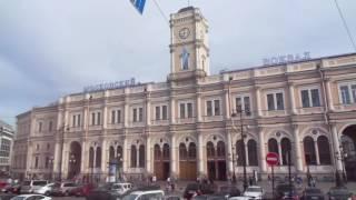 видео Обзорная экскурсия по Санкт-Петербургу на автобусе