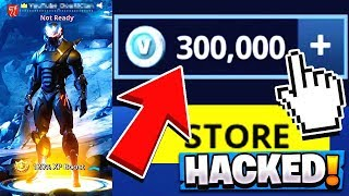 Hacking das RICHEST Fortnite Konto! | 300.000 VBUCKS!