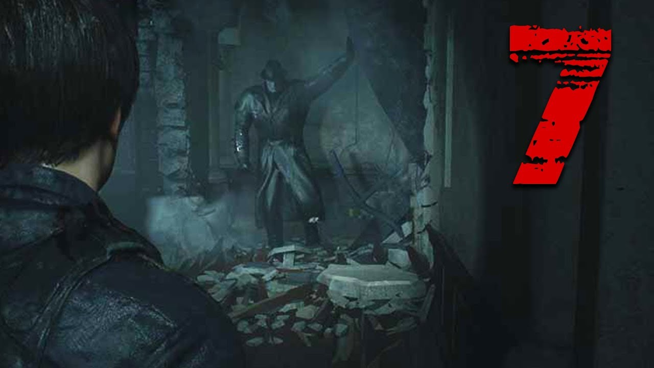 The Tyrant Crashes The Party Resident Evil 2 Remake Full