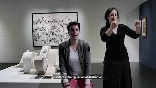 Manu vb Tintoré - exposition en LSF
