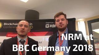 NRM at Blockchain & Bitcoin Conference Germany 2018