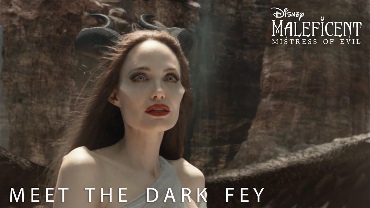 Disney S Maleficent Mistress Of Evil Meet The Dark Fey