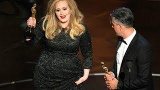 oscars 2013 full show adele receives best song skyfall 2013 academy awards 2013