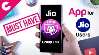 MUST HAVE APP FOR JIO USERS!! Jio Group Talk