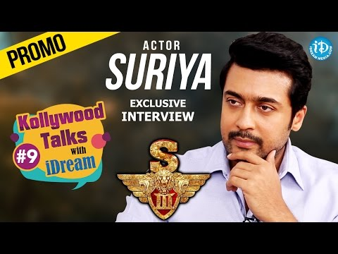 #Singam3 (S3) || Suriya Exclusive Interview - Promo || Zoomin With Vrinda #9