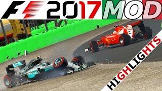F1 2016 Karriere Monza Highlights – Lets Play Formel 1 2017 Saison Mod Gameplay Deutsch | CSW