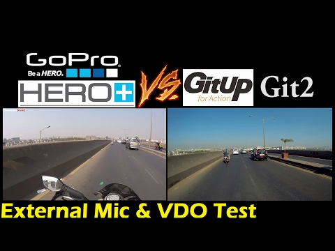 GoPro vs GitUp Git2 | Video & Audio(Mic) Test |  Better than GoPro? | Best Budget Action Camera