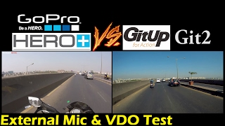 GoPro vs GitUp Git2 | Video & Audio(Mic) Test |  Better than GoPro? | Best Budget Action Camera