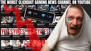 The Worst Clickbait Gaming News Channel on YouTube