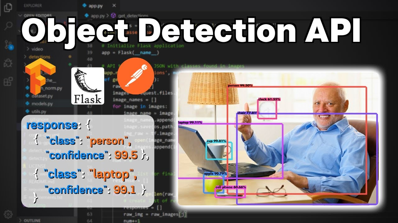 How to Build Object Detection APIs Using TensorFlow and Flask
