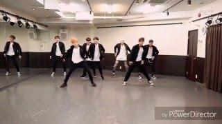 BTS Run Japanese Version dance practice HD