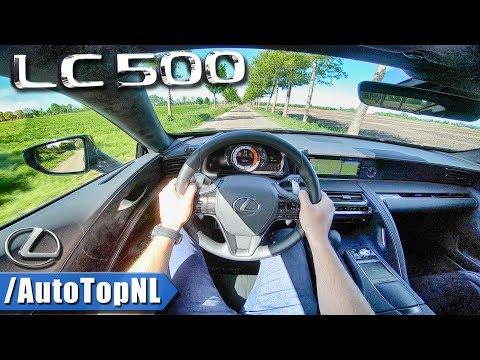 Lexus LC 500 5.0 V8 LOUD! POV Test Drive By AutoTopNL