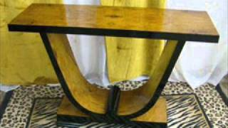 French Art Deco Antique Console Table American Tables For Sale