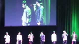 [FANCAM] Got7 -  Forever Young part 1. live in Dallas 2015