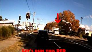 Red light runner Mascot NSW