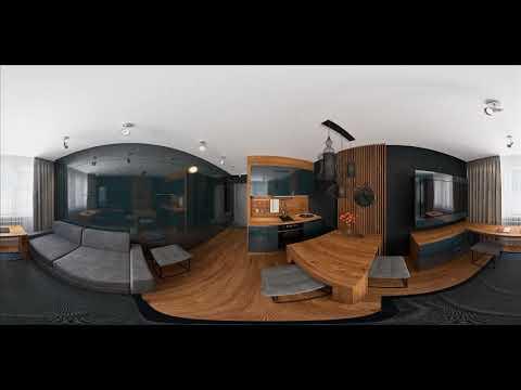 3D СМАРТ КВАРТИРА. Дизайн интерьера. Мебель трансформер