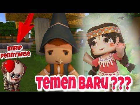 CARI TEMEN BARU KETEMU PENNYWISE 😱 - Mini World Block Art Indonesia