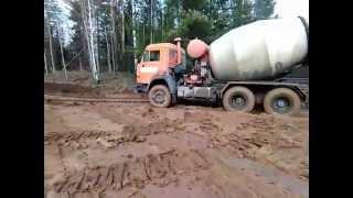 Доставка бетона в труднодоступные места в Ижевске(, 2015-11-13T17:28:11.000Z)