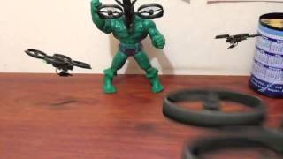 Ataque a Hulk :3