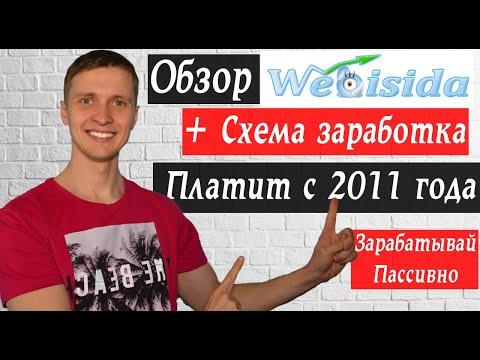 Автосерфинг Webisida, заработок в интернете +схема заработка