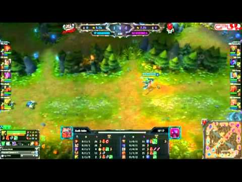 [GPL 2012] [Tuần 07] Taipei Assassins vs Singapore Sentinal  [04.07.2012]