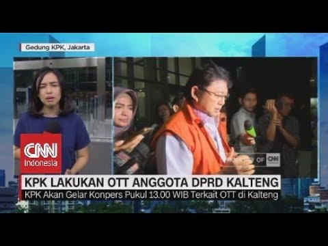 Anggota DPRD Kalteng Terkena OTT KPK