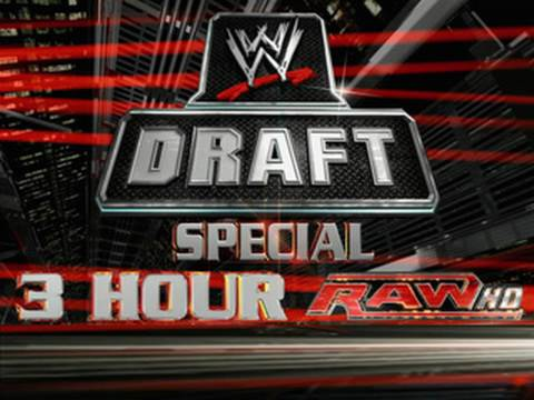 The 2010 WWE Draft is coming on a special three-hour Raw -