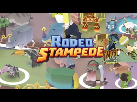 All Animals Unlocked Rodeo Stampede Fan Choice Fr