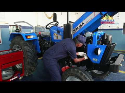 Sonalika Tractors - RX Series Service - Punjabi