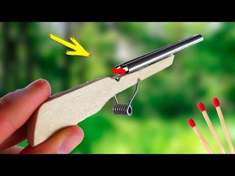 DIY Double Barrel | Homemade Mini Rifle