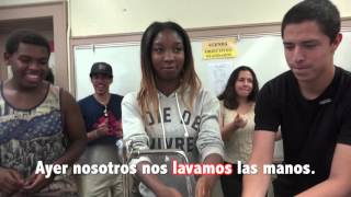 spanish music video for the preterite tense