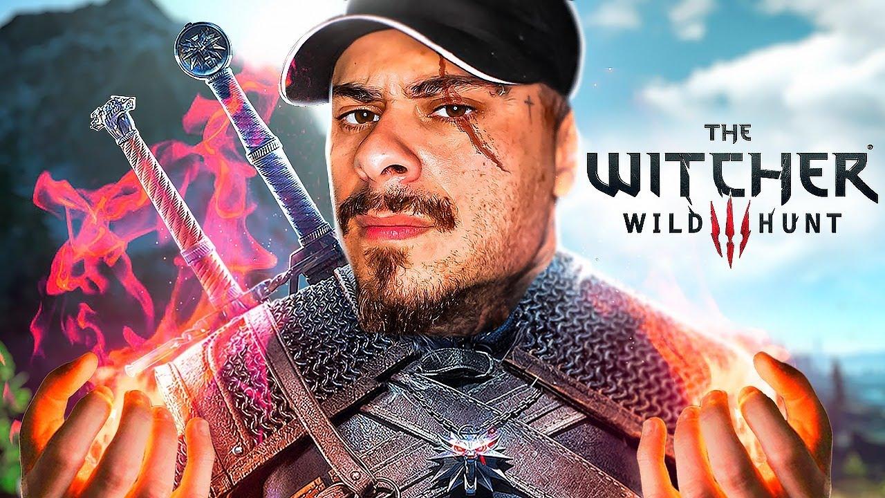 THE WITCHER 3 #1 - O INICIO DO BRUXÃO! - LEO STRONDA