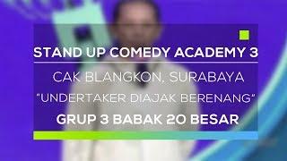 Stand Up Comedy Academy 3 : Cak Blangkon, Surabaya - Undertaker Diajak Berenang